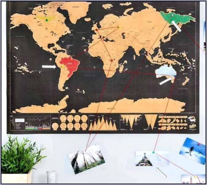 World Travel Map Pinboard Online - Map  Resume Examples #EVKYlJB106