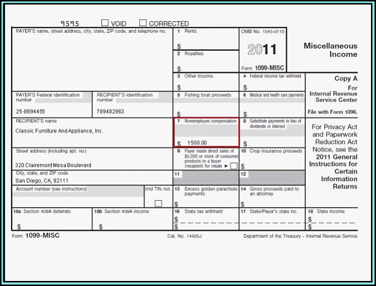 1099 Misc Template Excel - Template 1  Resume Examples #G28Bxz0KgE