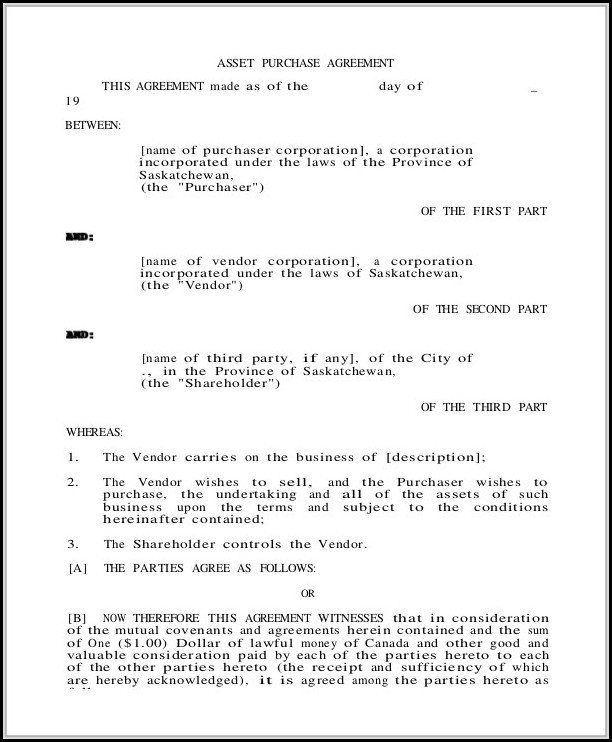 Blank Purchase Agreement Form - Form  Resume Examples #Ze12Vvn1jx