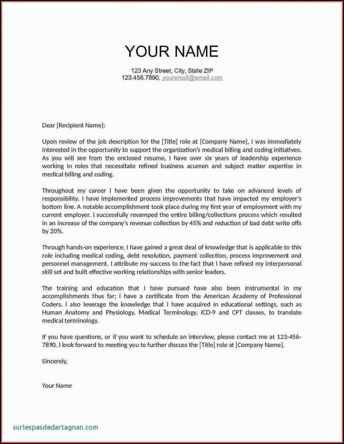 Free Printable Cover Letter Templates Microsoft Word - Cover Letter