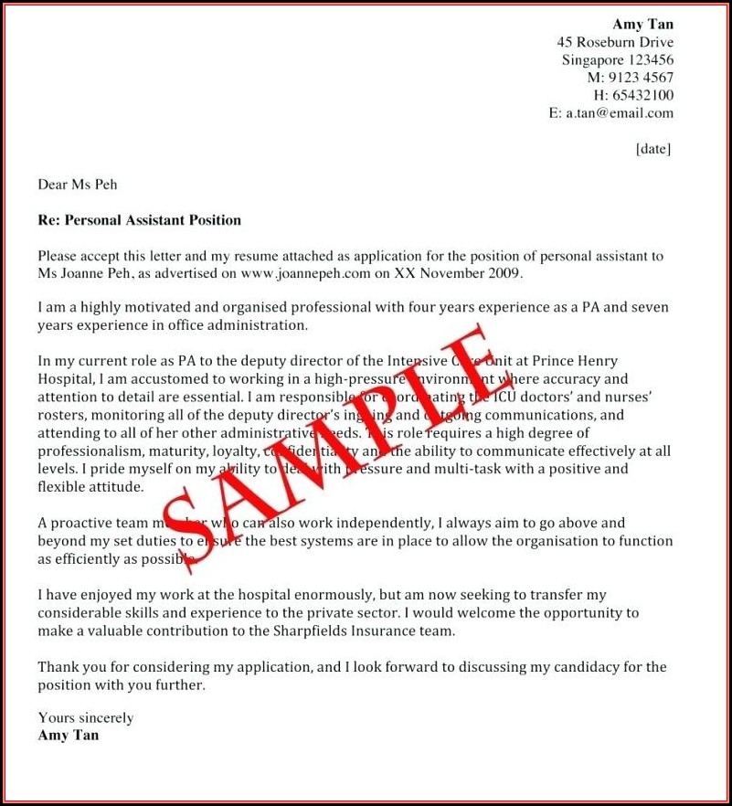 How To Make A Great Cover Letter \u2013 resume