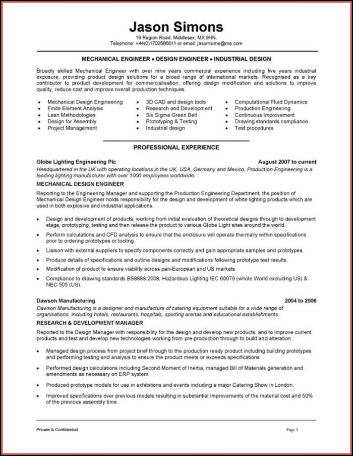 Download Hvac Resume Template - Resume  Resume Examples #6V3R0m717b