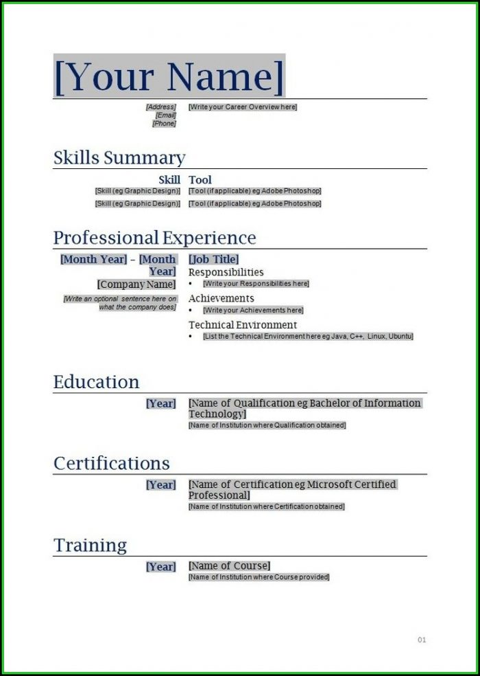 Completely Free Printable Resume Builder - Resume  Resume Examples