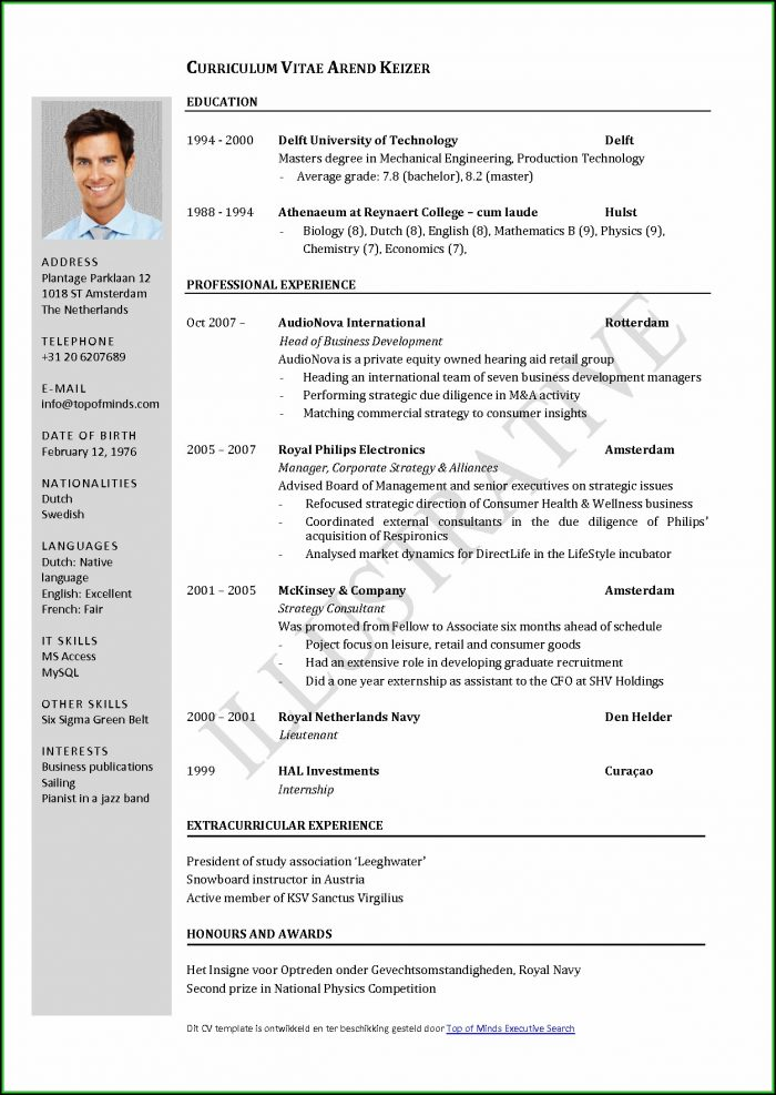 Latest Resume Templates For Freshers Free Download - Resume  Resume