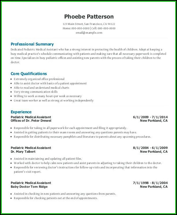 Medical Administrative Assistant Resume Template - Resume  Resume