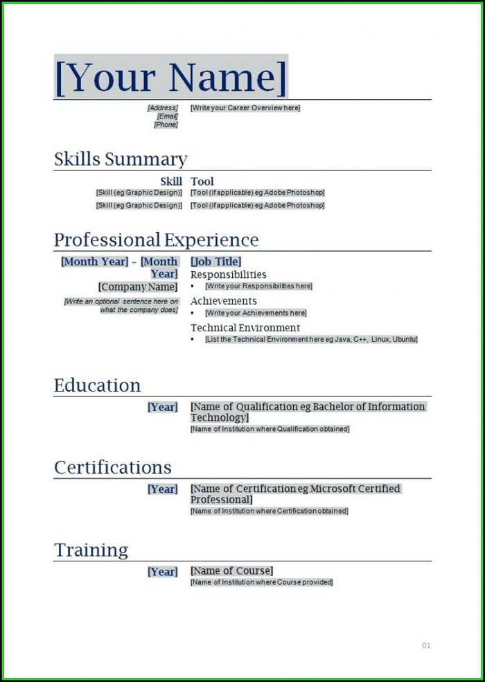 How To Prepare A Resume And Cover Letter - Cover Letter  Resume