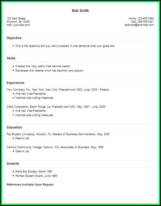 Resume Creating Websites - Resume  Resume Examples #Vj1yZ5bKyl