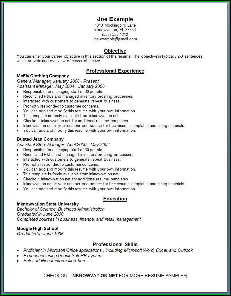 Resume Format Free Online - Resume  Resume Examples #xJKErrB3rk
