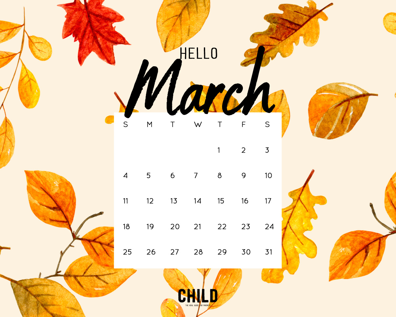 Cute Rainy Weather Wallpapers Your Free March Calendar