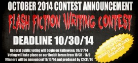October 2014 Flash Fiction Horror Writing Contest Announced!