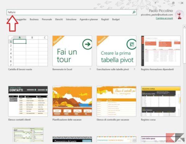 Come creare fatture con Excel - ChimeraRevo