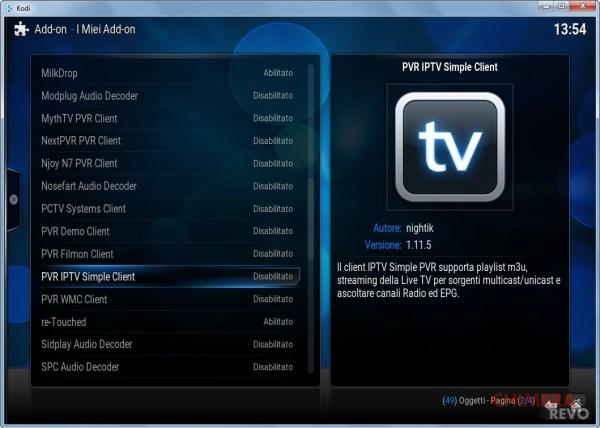 Kodi come vedere canali tv in streaming aggregatore gnu linux e dintorni - La finestra di fronte streaming ...