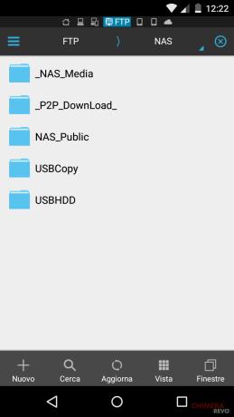 NAS webdav ES gestore file