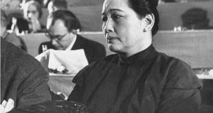 宋庆龄1952年出席共产国家在欧洲举行的和平会议