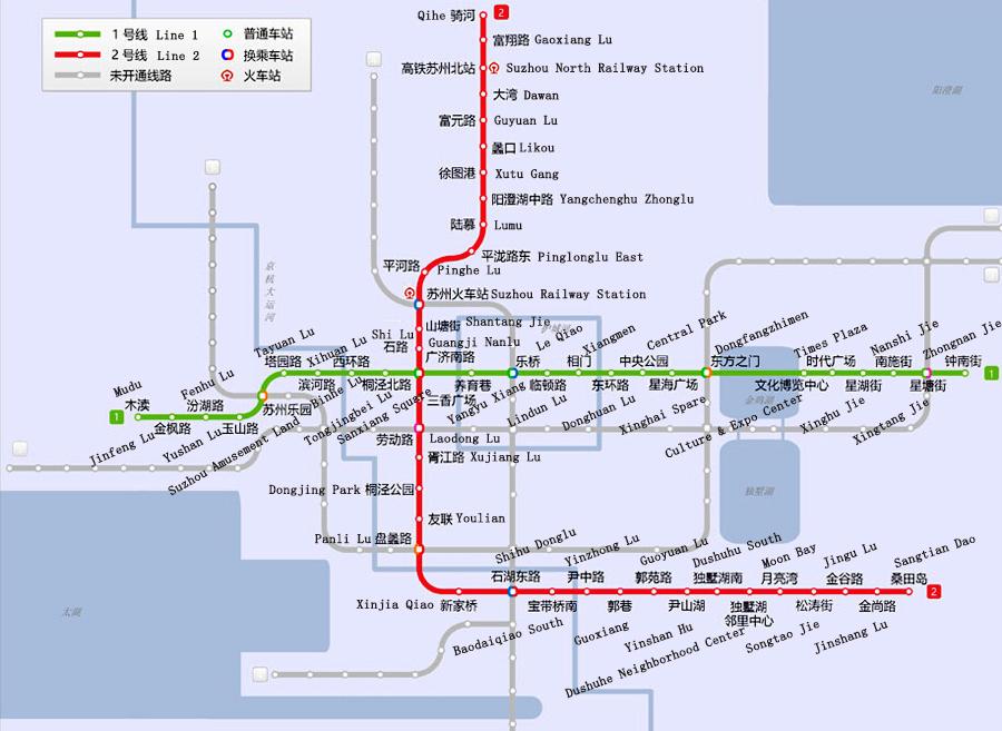 Suzhou Metro Suzhou Subway Lines, Maps, Stations, Tickets