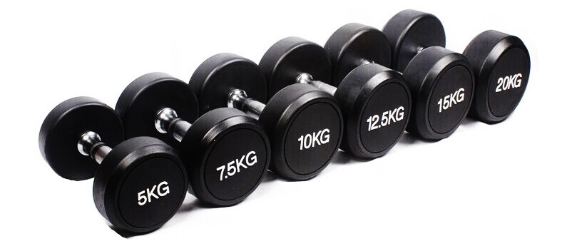 China Supplier Wholesale Pu Dumbbell Set China Crossfit