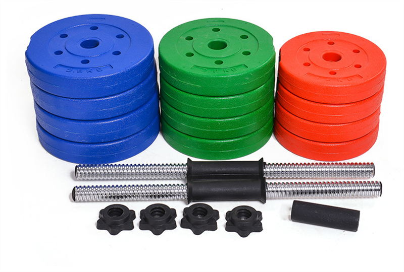 China 22quot Adjustable Cement Dumbbell Set For Crossfit