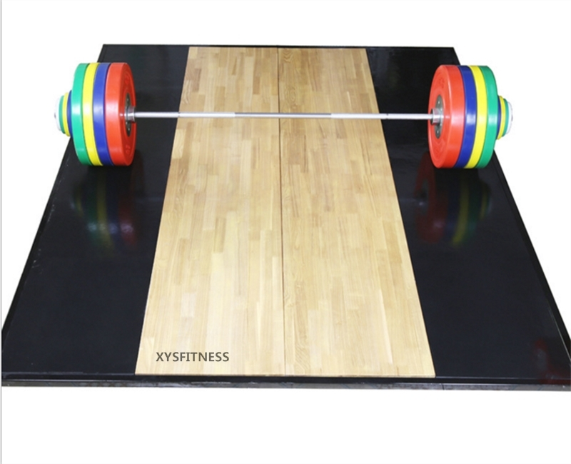 Solid Heavy Duty Weightlifting Platform Home Gyms
