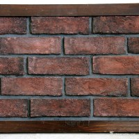 Artificial Stone Red Brick / Wall Stone Panel |China Marble
