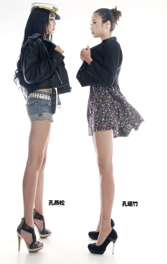 Kong Yansong and Kong Yaozhu model shots.