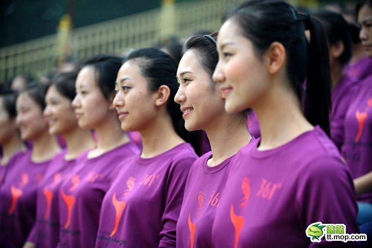 guangzhou 2010 asian games goodwill hostesses in training