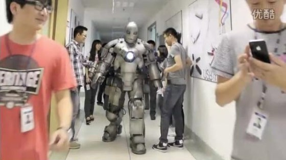 A Chinese guy has made his own Iron Man MK I armor.
