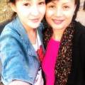 Guo Meimei and her mother.