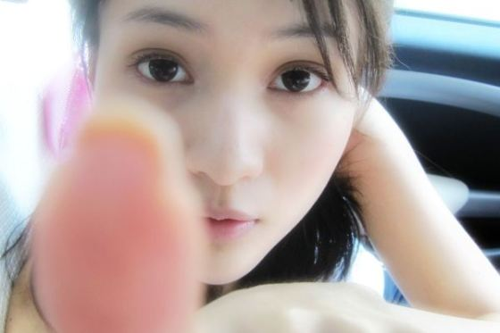 Guo Meimei pointing at you.