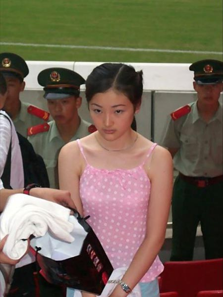 Tao Jing, arrested and sentenced to death for drug trafficking for her boyfriend.