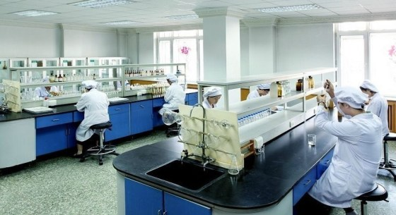 Harbin Pharmaceuticals' Sixth Pharmaceuticals' luxurious factory plant.