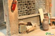 Realistic detailed scale-models made by Chinese students from Xi'an Academy of Fine Art.