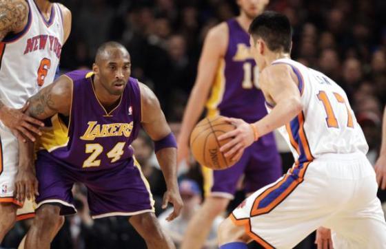 Kobe Bryant vs. Jeremy Lin,
