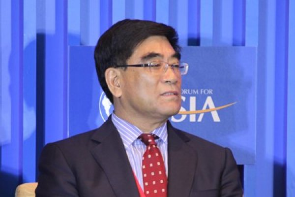 Sinopec Chairman Fu Chengyu at the Boao Forum for Asia Annual Conference.