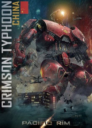 China's jaeger, Crimson Typhoon, in Pacific Rim.