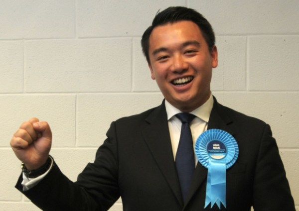 First Ethnically Chinese MP Enters British Parliament