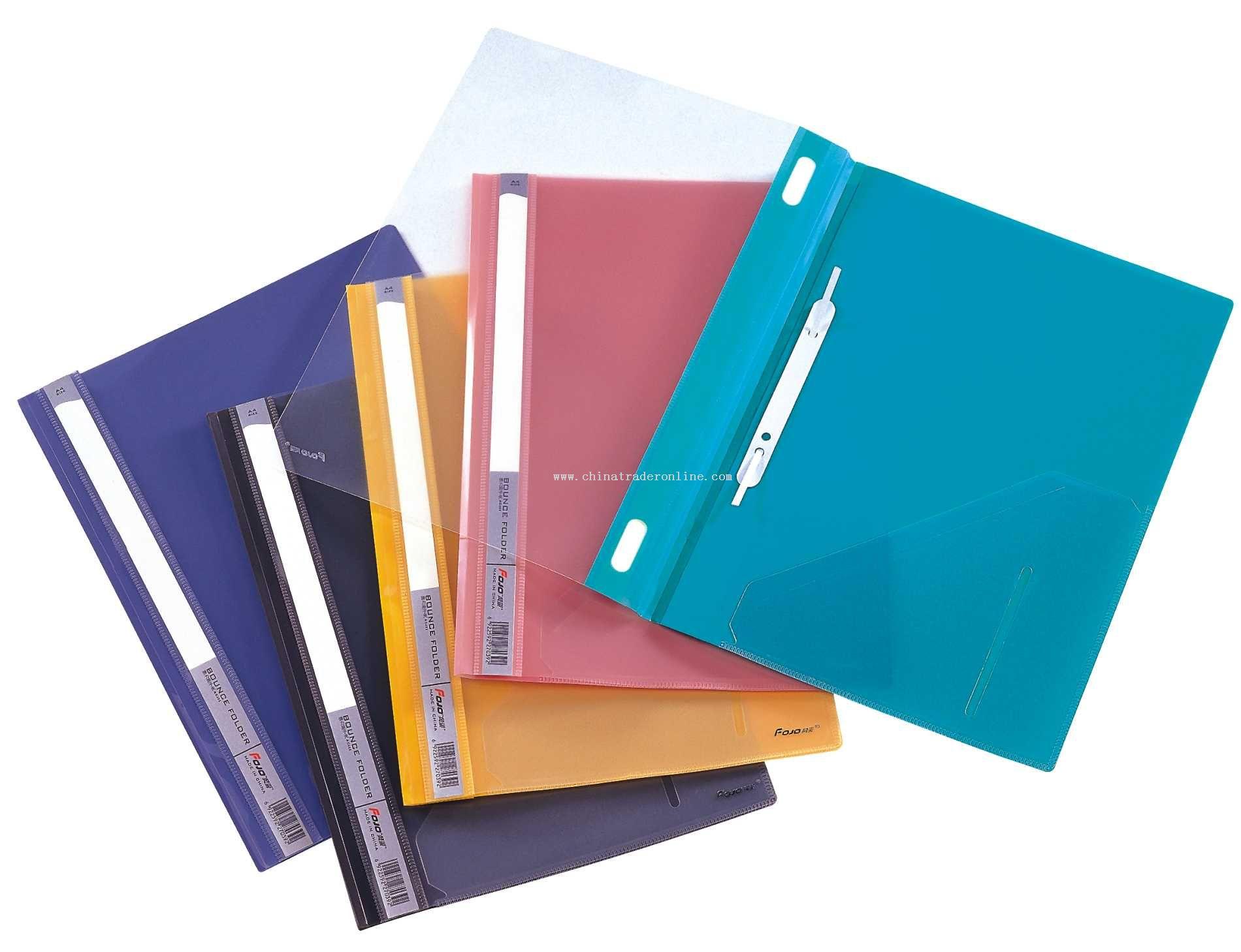 Promotional Transparent File Folder Transparent File