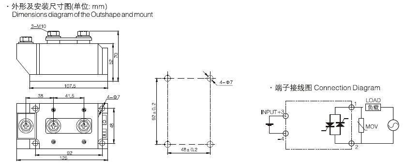 SSR-DA□□M4,Solid State Relay - China Xurui Electronic