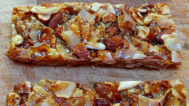 Almond and Coconut Bars