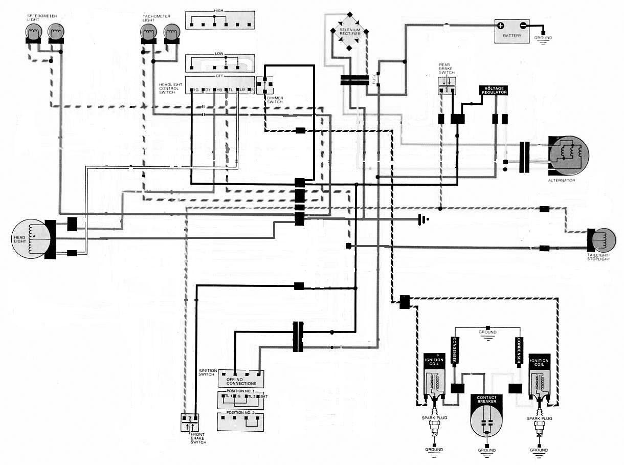 2001 honda recon 250 wiring diagram