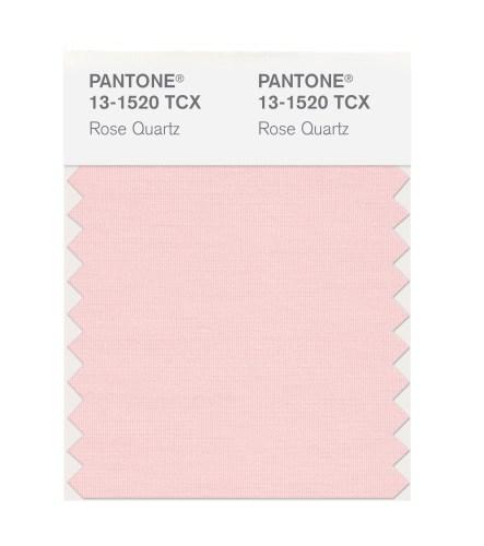 Pantone Farbe des Jahres Rose Quartz