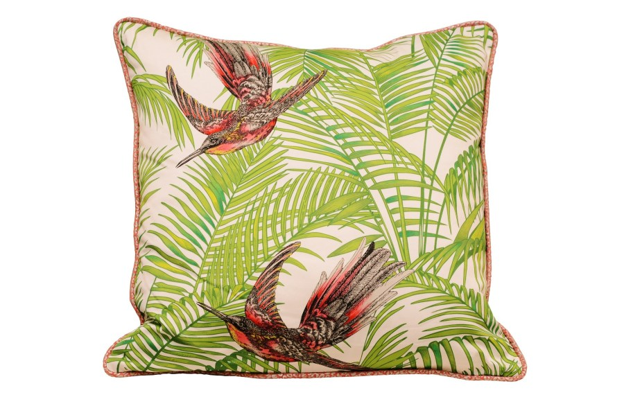 Steinwender Pillow with Matthew Williamson fabric