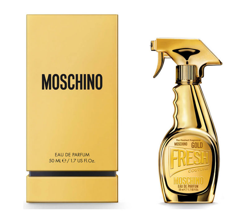 Gold Fresh Couture Moschino