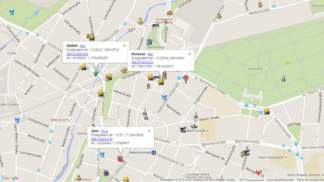 Ios 7 3d Live Wallpaper Pok 233 Mon Go Map Live Karte Zum Fangen Von Pok 233 Mon Chip
