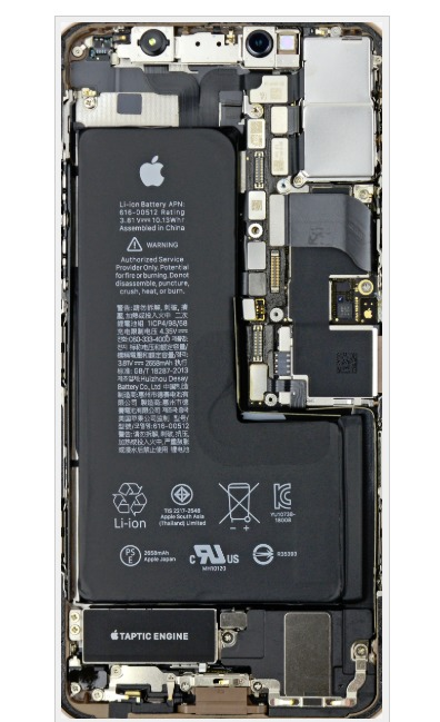 Ifixit Wallpaper Iphone X Iphone Xs Teardown Wallpaper Download Chip