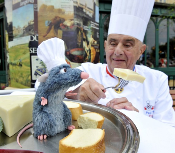 CHEF PAUL BOCUSE MEETS CHEF REMY AT EPCOT