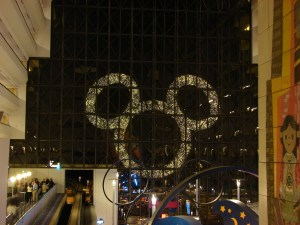 View from the Monorail