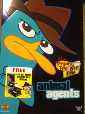 Phineas and Ferb Animal Agents