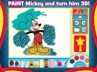 Paint with Mickey