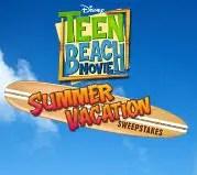 Teen Beach Movie Sweepstakes