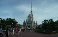 Cinderella Castle Dream Lights Installation at Disney World